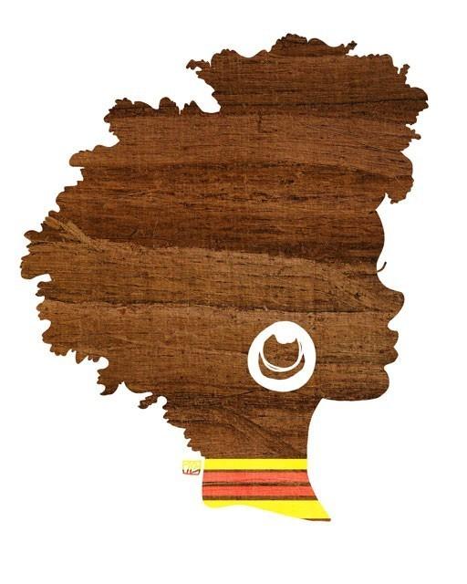 black woman art