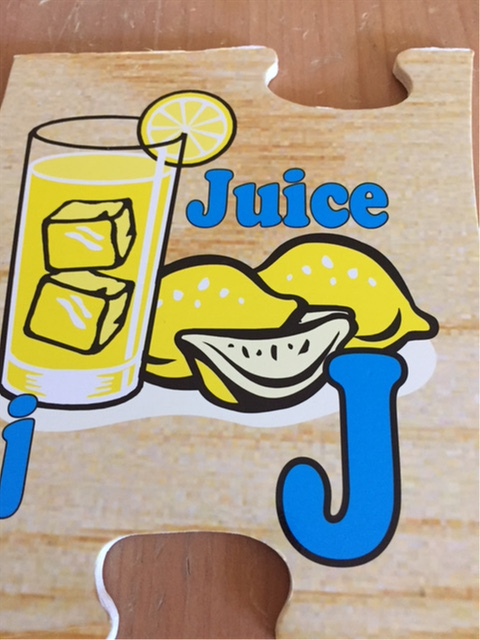 j is for juice