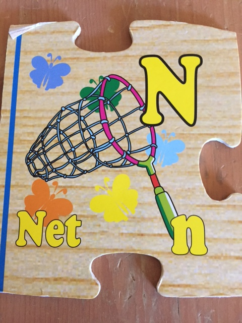 n is for net
