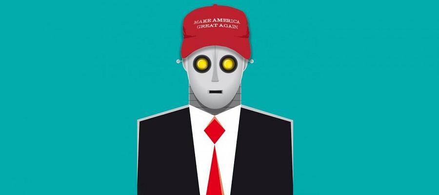 robot trump