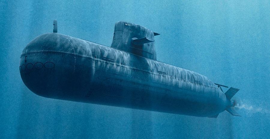 sub underwater