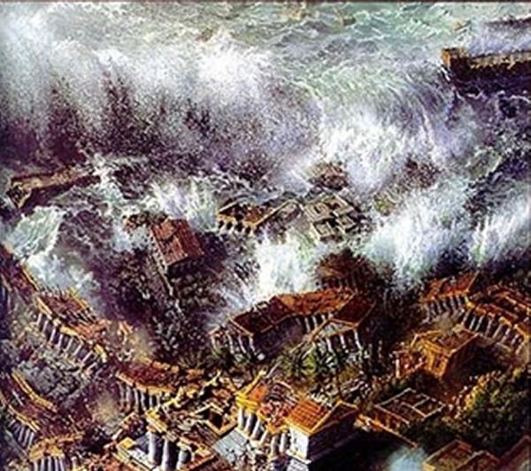 atlantis sinking