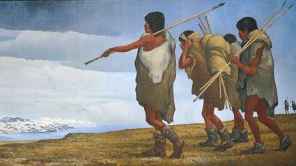 primitive men