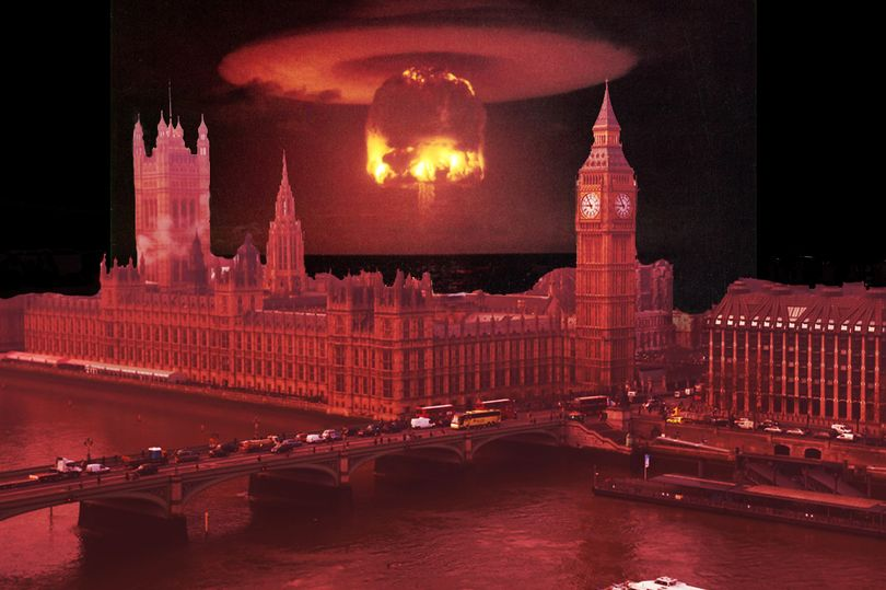 london being nuked