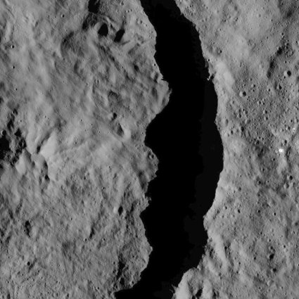 ceres crater
