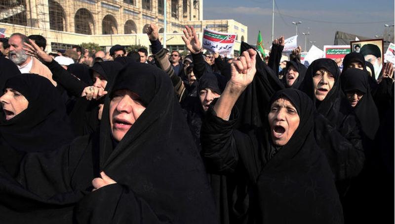 iran arrests hijab