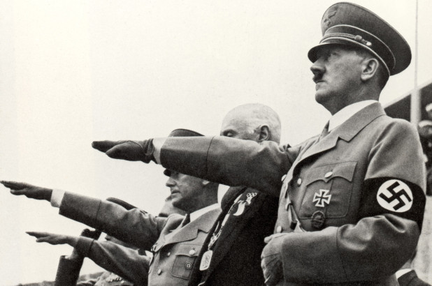 hitler and staff