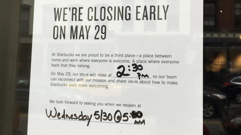 starbucks closed