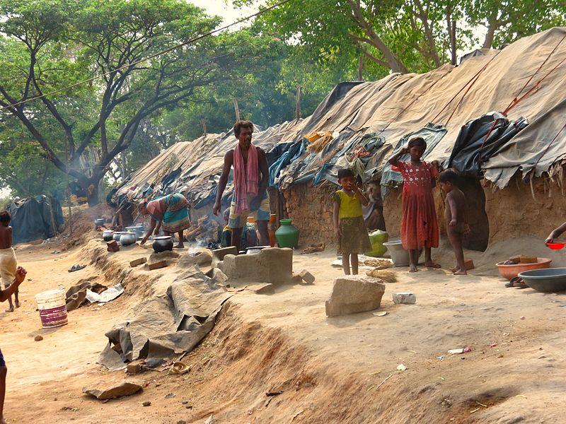 Hyderabad slum