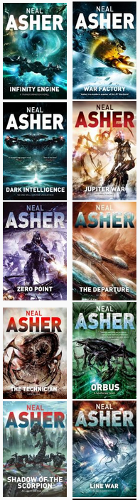 neal asher books